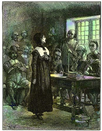 Anne Hutchinson on Trial