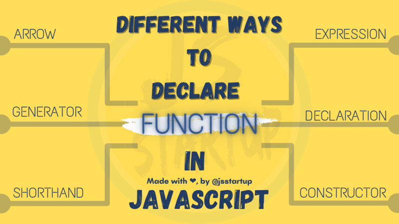 Different ways to declare function in javascript