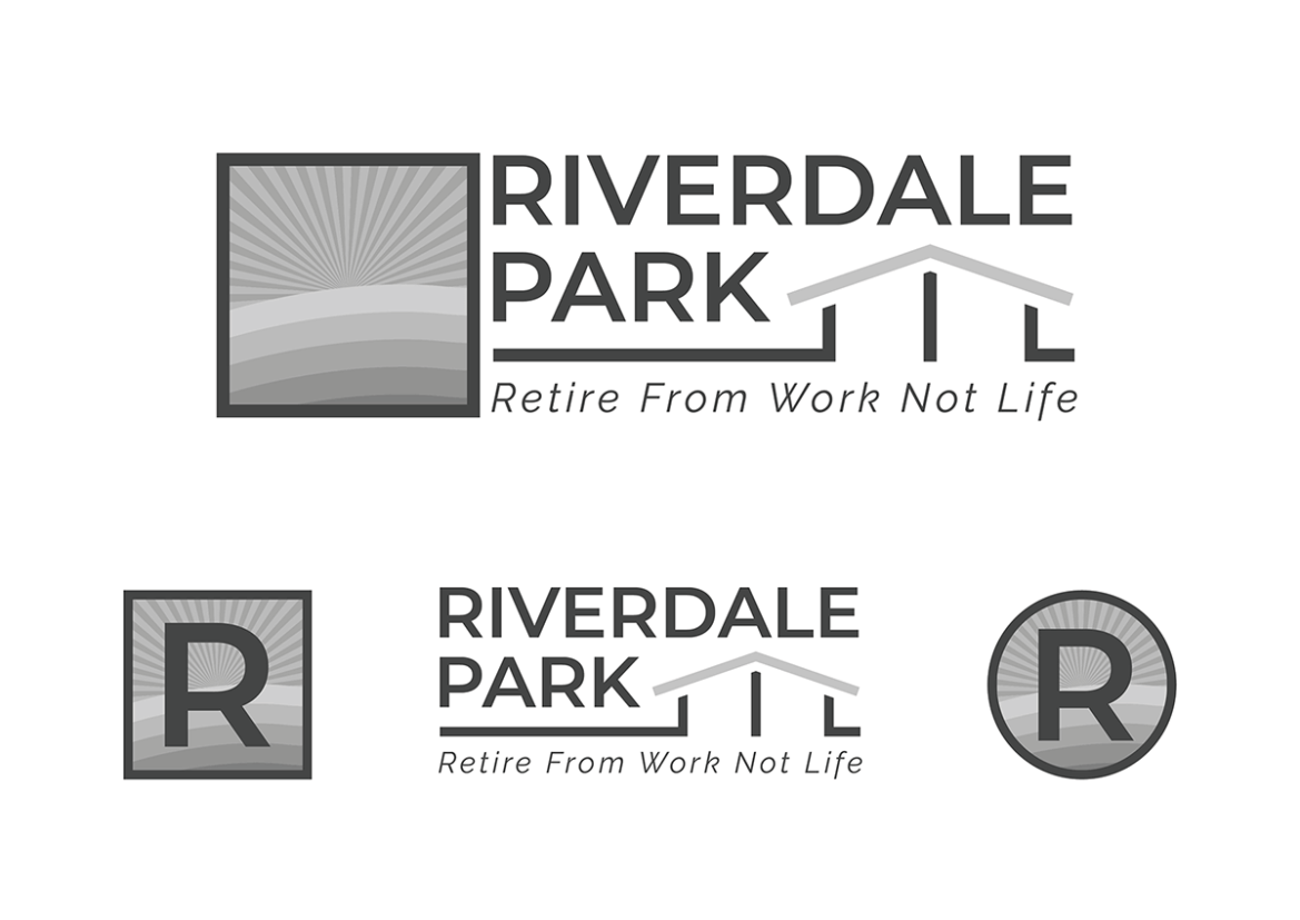 Riverdale Park Logo Greyscale