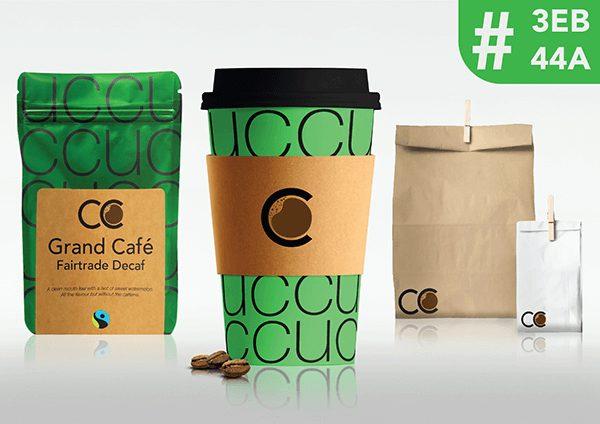 Coffee Company Cup Green
