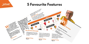 Five Favourite Features Insulate issue 18