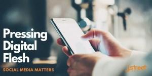 Social media matters pressing digital flesh image header