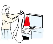 blødt brandtæppe brandtæpper brandmateriel brandtæppe falck rengøring efter brand
