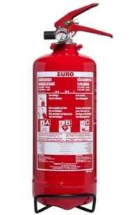 2 kg pulverslukker euro