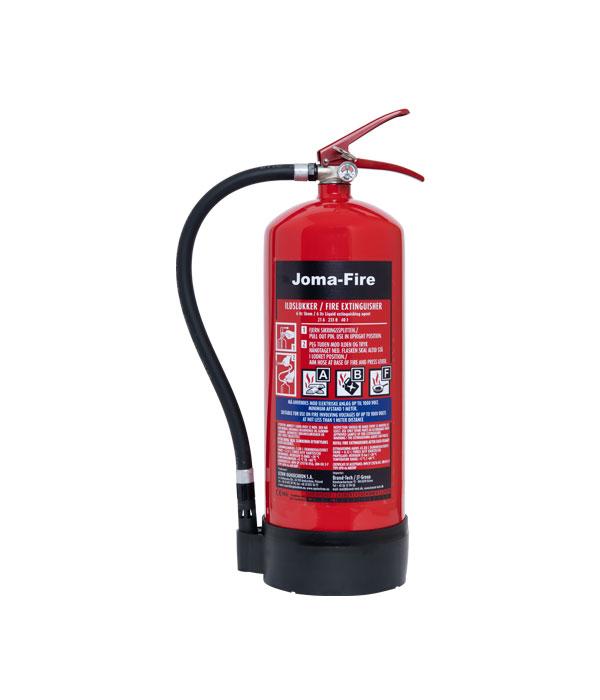 6 ltr ABF Universal brandslukker fritureslukker ildslukkerJoma-Fire
