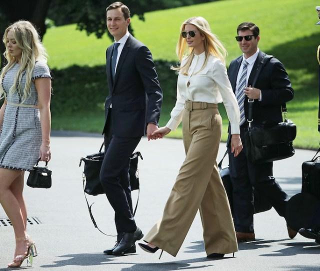 Ivanka Trump Jared Kushner To Accompany President On Pittsburgh Visit