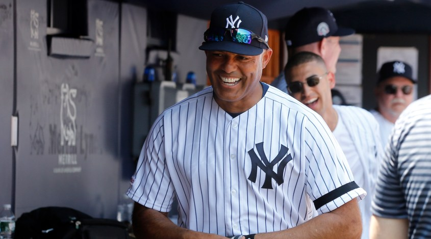 Mariano Rivera, shown at Yankee Stadium, June 23, 2019, has been to Israel twice. (Jim McIsaac/Getty Images)