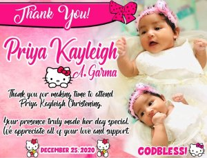 hello kitty tarpaulin template psd for Birthday and or christening
