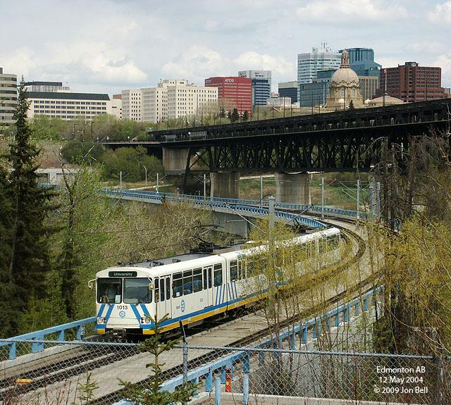 Edmonton LRT Light Rail