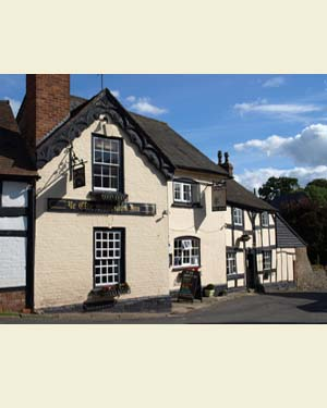 The Salutation, Weobley Postcard Front - Ref L04