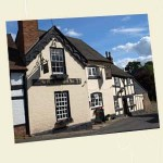 The Salutation, Weobley Postcard Angle - Ref L04