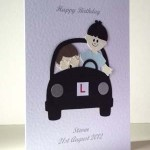 Learner Driver - Men's Birthday Card Angle - Ref P206