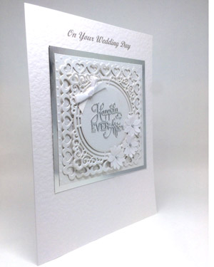 Happily Ever After - Wedding Card Angle - Ref P218
