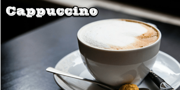 cappucciono coffee