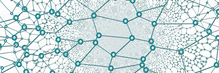 abstract image of a network