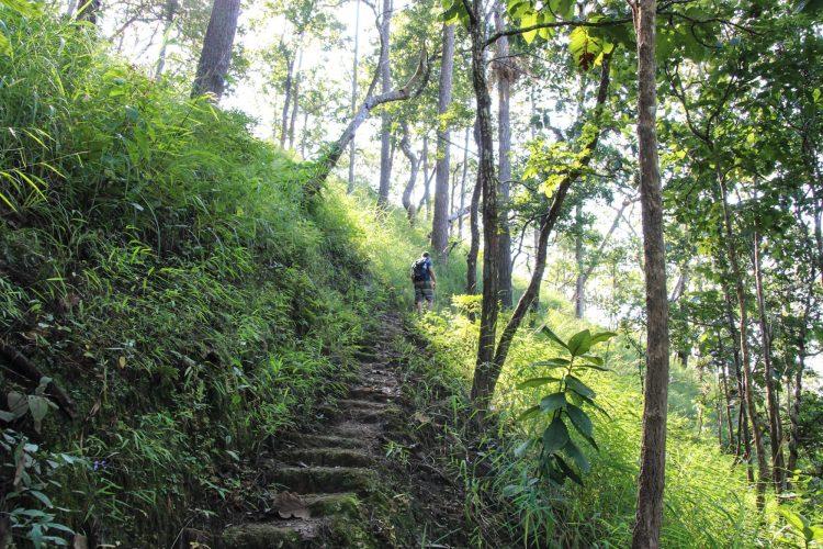 Randonnée aux alentours de Mae Hong Son