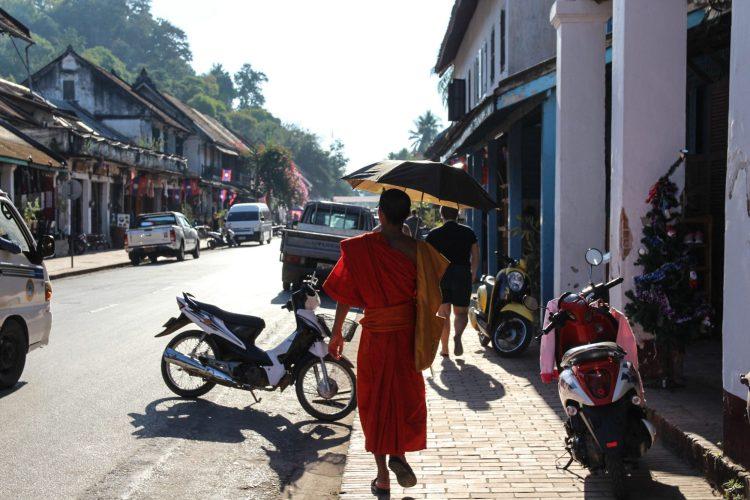 Flâner dans les rues de Luang Prabang