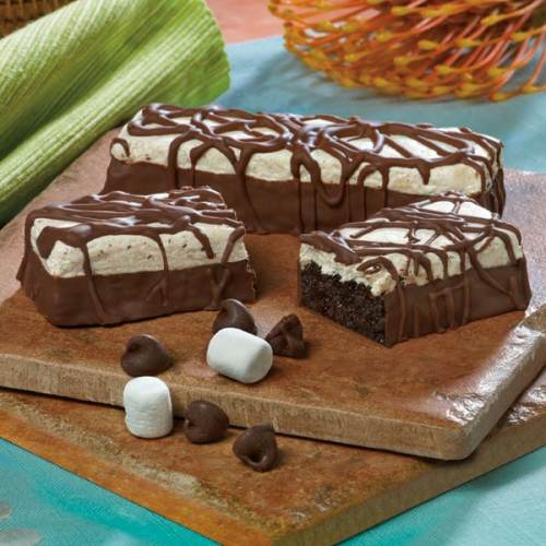 Marshmallow Brownie Bars