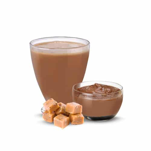Advanced Chocolate Caramel Pudding & Shake
