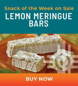 Snack of the Week on Sale: Lemon Meringue Bars