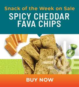 Snack of the Week on Sale: Spicy Cheddar Fava Chips