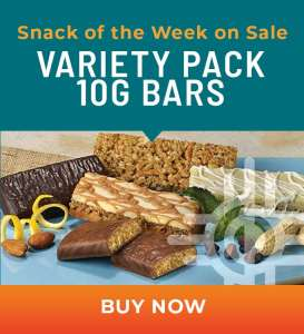 Snack of the Week on Sale: Variety Pack 10g Bars