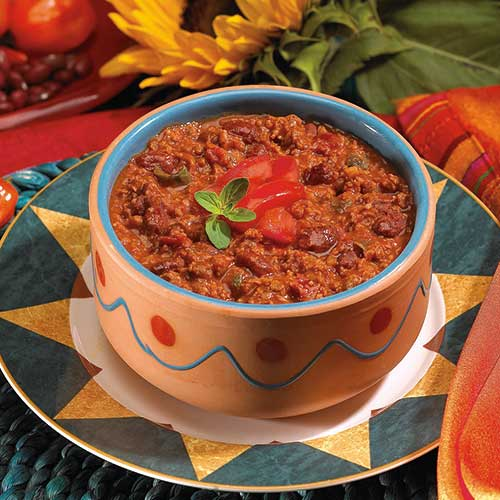 Vegetable Chili with Beans