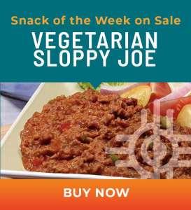 Snack of the Week on Sale: Vegetarian Sloppy Joe