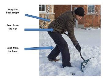 Shoveling Snow in Ft Wayne