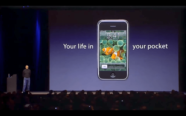 Steve Jobs iPhone You life in your pocket