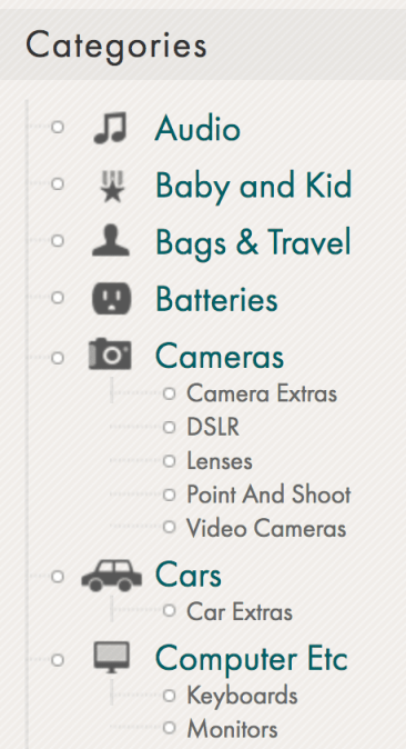 The Wirecutter categories