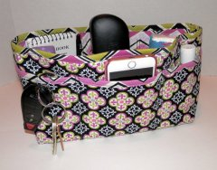 quilted purse organizer