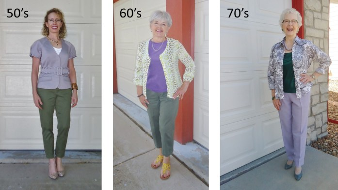 Purple for the 50's, 60's, & 70's