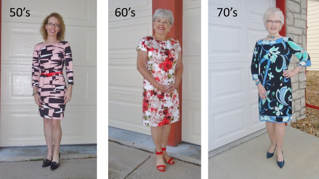Dress 3 Ways for the 50's, 60's. & 70's
