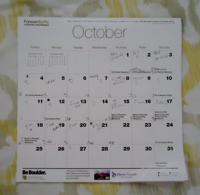 Calendar You issues