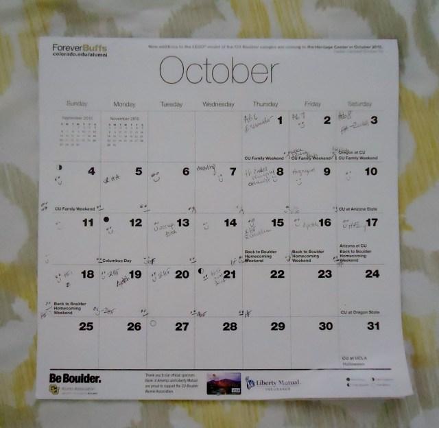 Calendar You issues