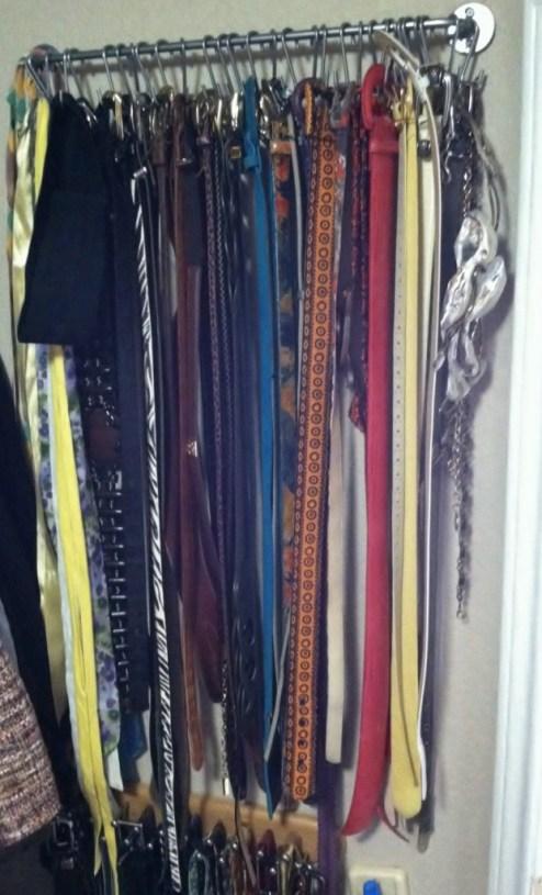 Organization: Belt Storage