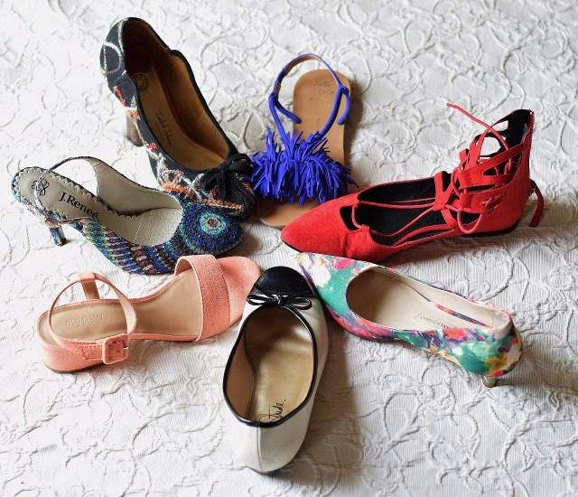 Shoes, shoes & more shoes