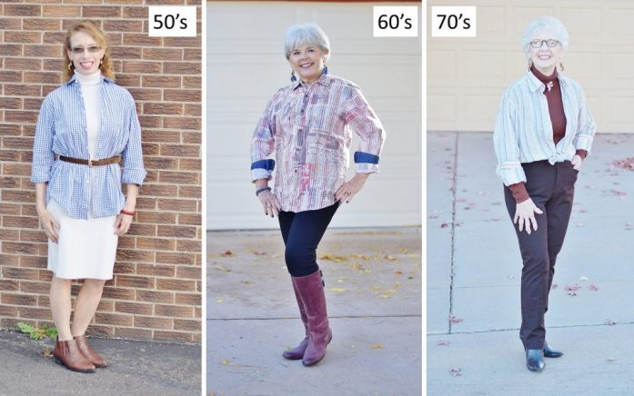 Borrowing Men's Items for Women's Fashion.