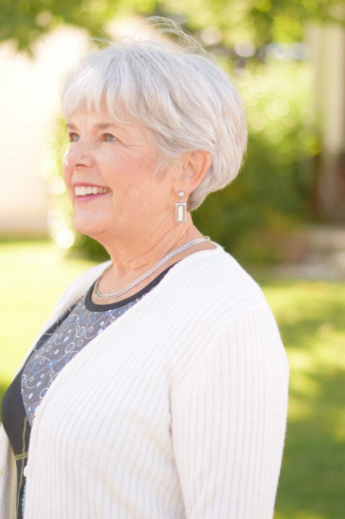 Women over 60 wearing Sentimental clothing