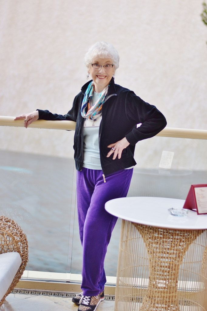 Women over 70 and fashion