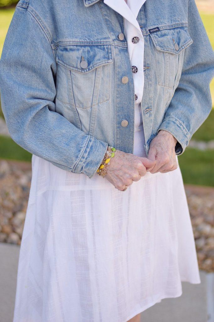 Making your closet more modern for older women