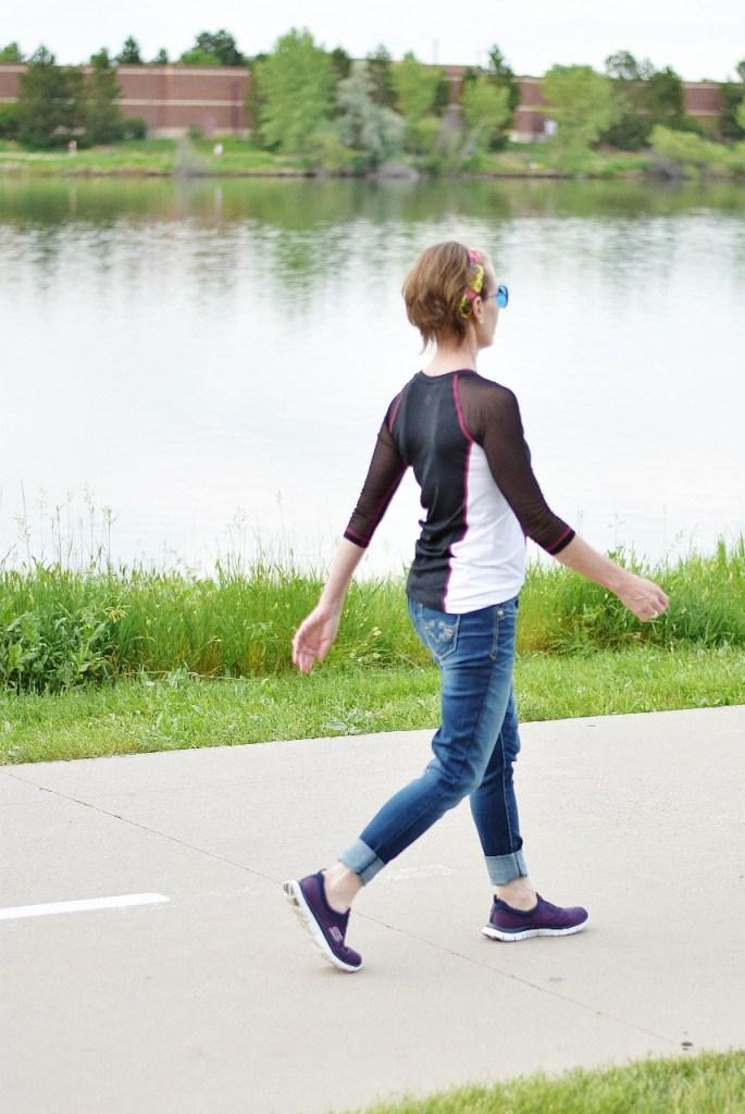 Walking and Tenaz Athletics Shirt