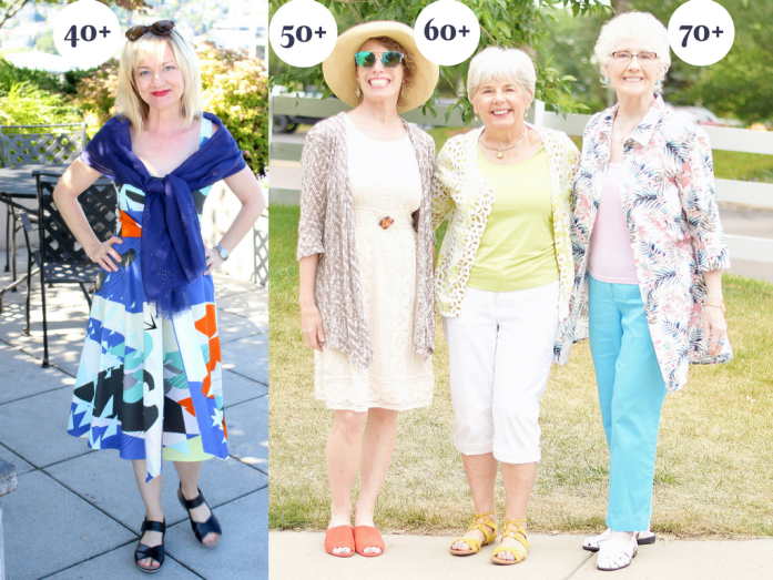 Summer Styles for 4 Generations