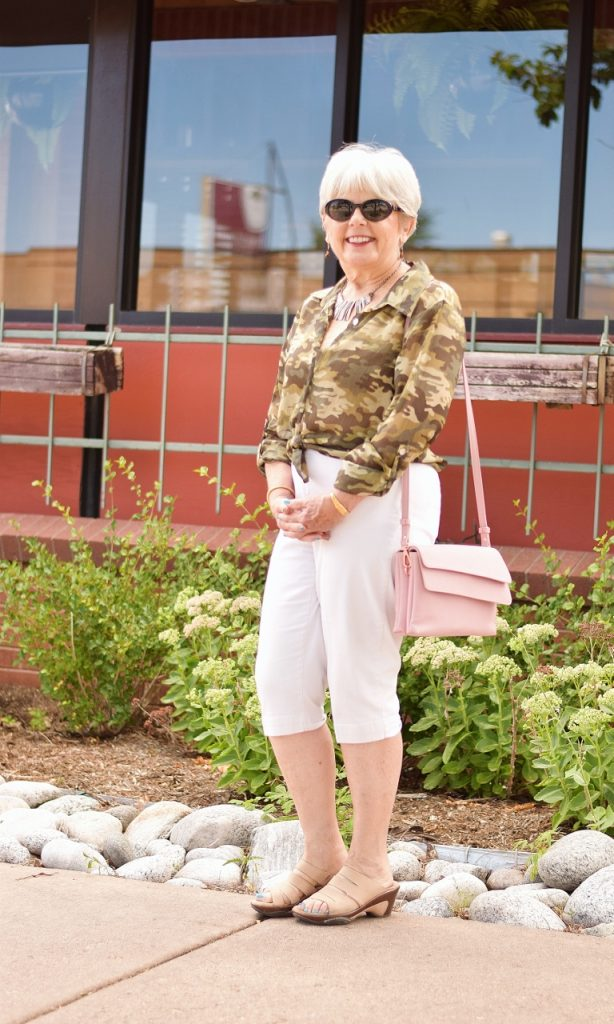 Camo & lace for women over 60