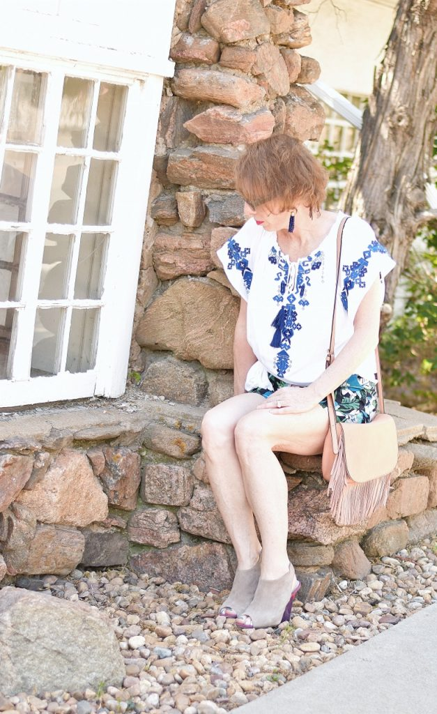 Summer shirt with shorts