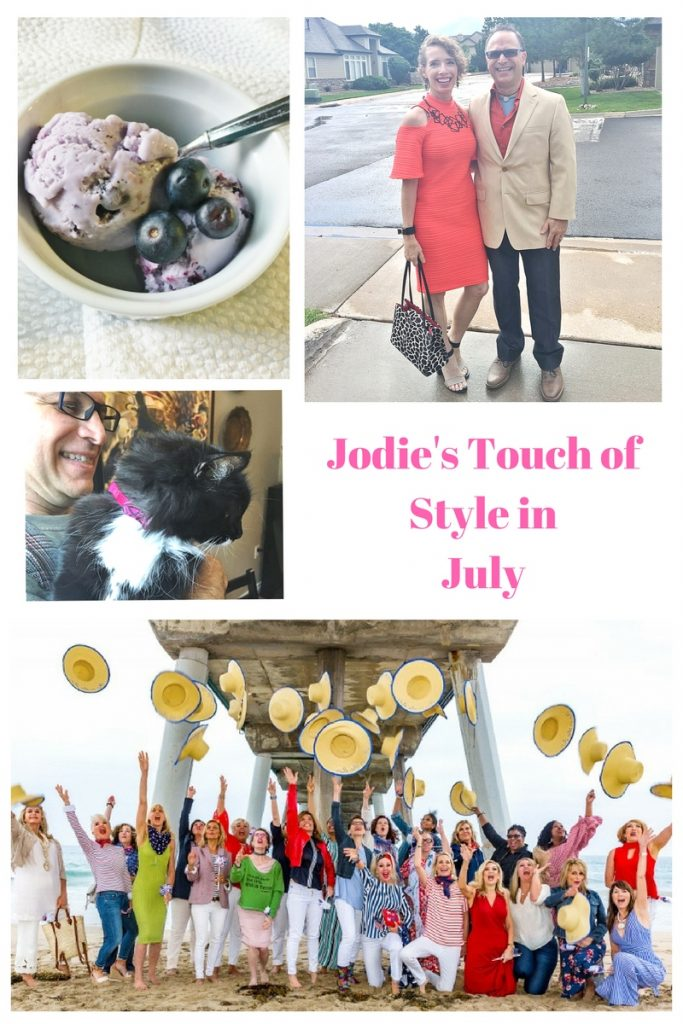 July Events collage