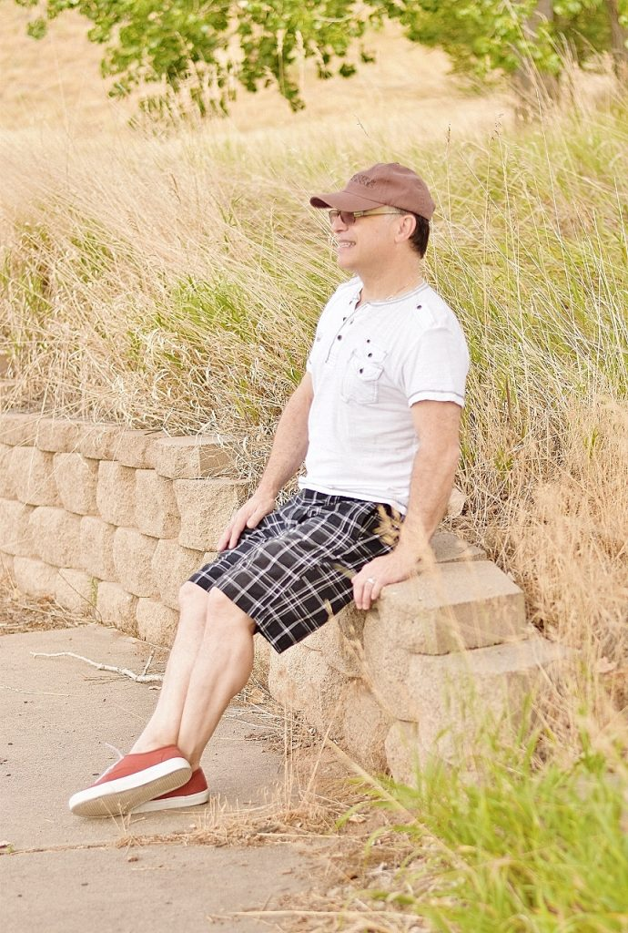 Men's Summer Style with Shorts