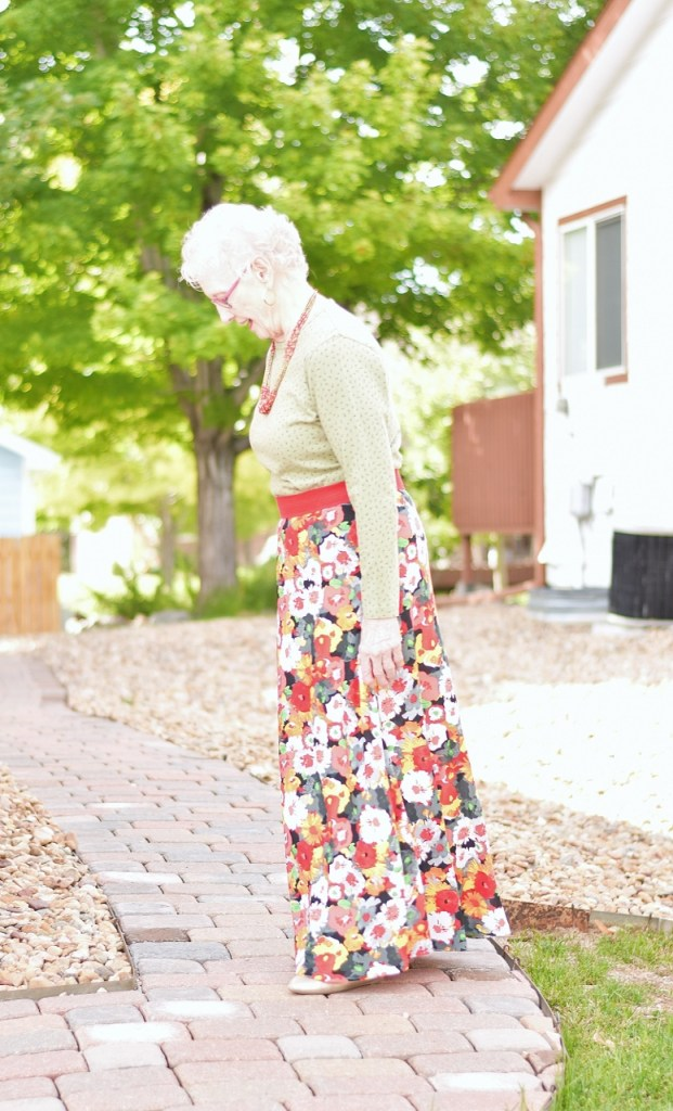 Summer skirts with fall colors