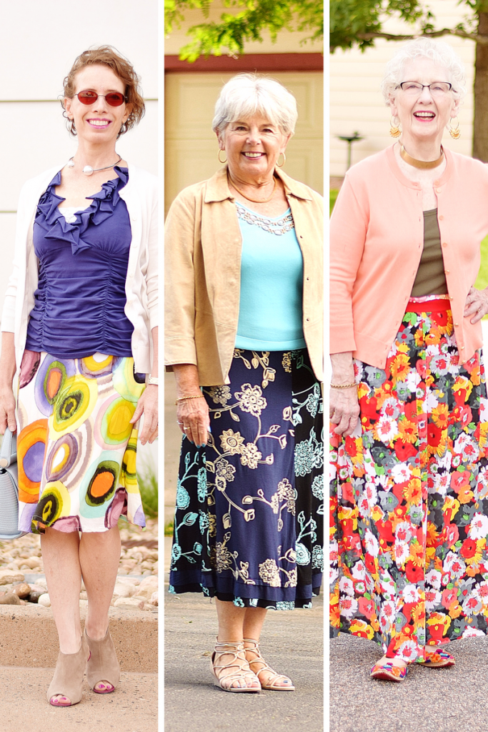 Layering Pieces for 3 Generations of Women